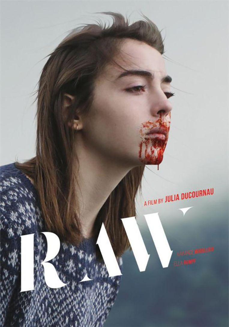 De affiche van 'Raw'.