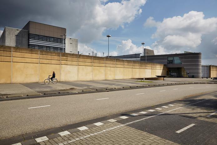 De gevangenis van Nieuwegein.