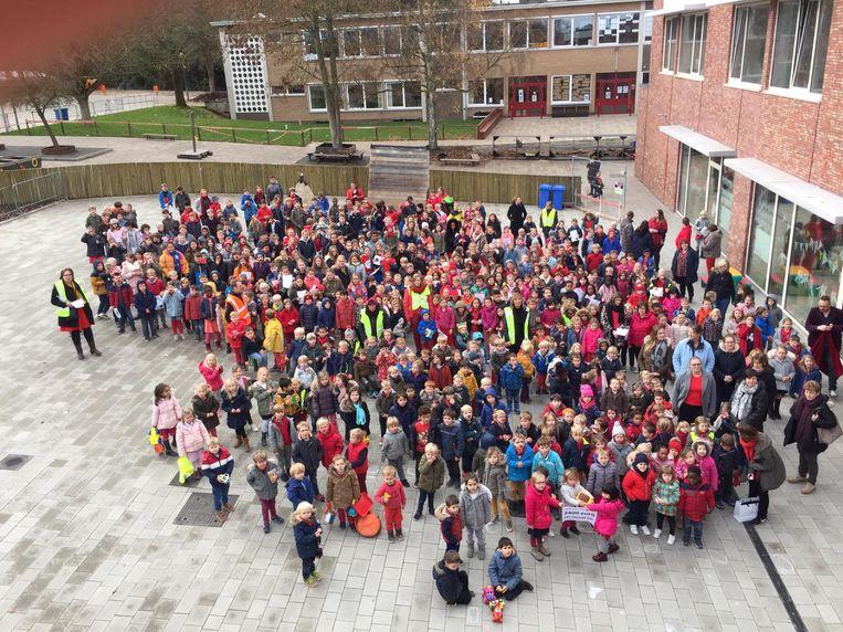 Basisschool Het Groene Dal was de hele week in de ban van de Rode Neuzendag.