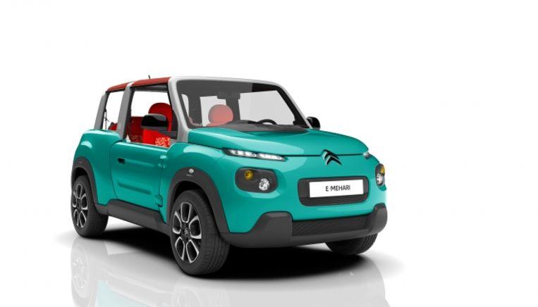 De Citroën e-Méhari Beeld