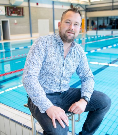 Zwembadleider Rick uit Ommen mist nog de zwemmers van de kwetsbare groepen