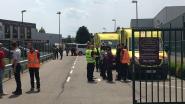 Groothandel Hanos even geëvacueerd voor sterke gasgeur: ambulances en MUG verzorgen personeel en klanten