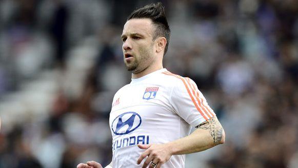 Valbuena verdedigt op dit moment de kleuren van Olympique Lyon.