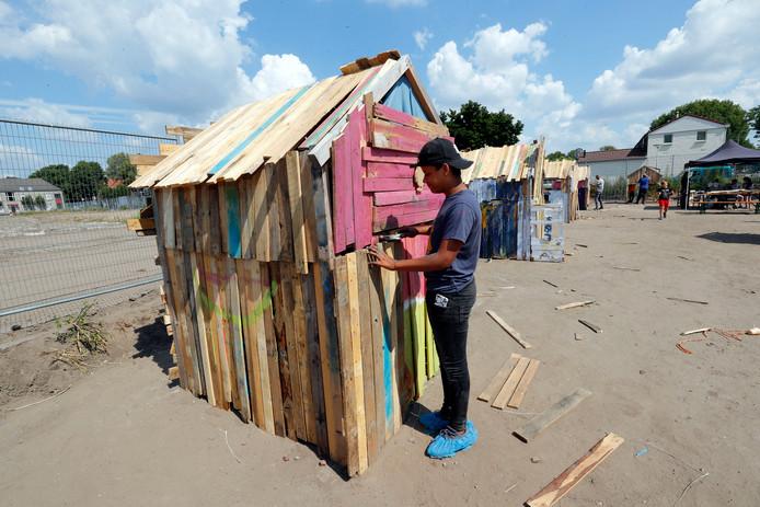 Voorkeur Een droomhut bouwen op de plek van je oude huis | Eindhoven | ed.nl @WZ52
