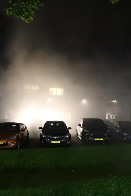 Mistgenerator zet garagebedrijf in Culemborg 'in brand'