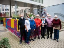 Met dank aan de coole bewoners van woonzorgcentrum: graffitiwerk van 35 meter siert OLV Antwerpen