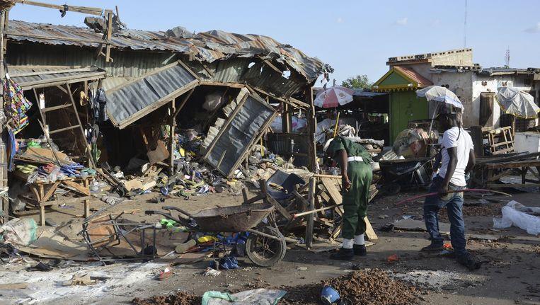 De aanslag komt een dag na een dubbele bomaanslag door meisjes in een de stad Maiduguri.