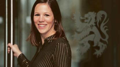 Elke Wouters (N-VA) legt eed af in Vlaams Parlement