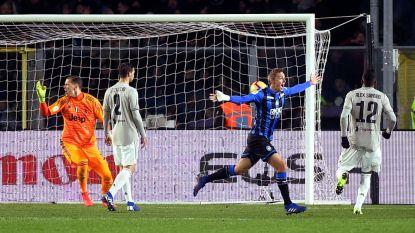 Castagne zet Juve en Ronaldo een hak in beker