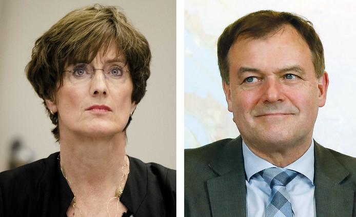 Het OM erkent dat de liefdesrelatie tussen Marianne Bloos en Marc van Nimwegen intern bekend had moeten worden gemaakt
