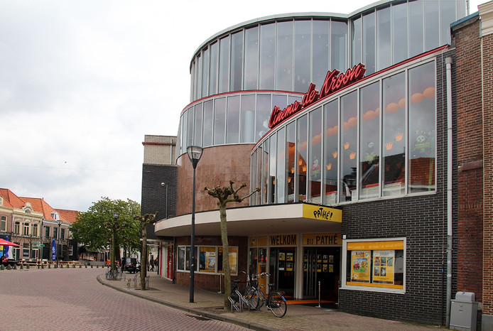 De Pathé bioscoop in Zwolle
