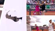 Umpire neemt twijfelachtige beslissing in nadeel van ex-nummer 1 van het vrouwentennis, waarna die het even helemaal verliest