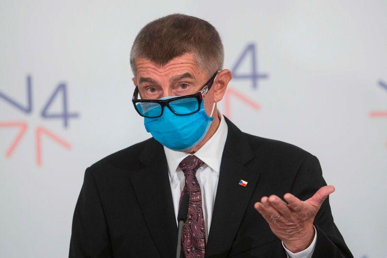 De Tsjechische premier Andrej Babis.