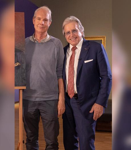Haagse Bert maakt portret van Lee Towers: 'Ik heb geen seconde geaarzeld, het is een hele eer'