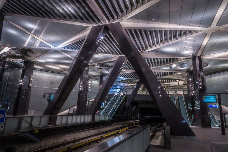 Centraal Station, reizigers per dag: 35.000. Beeld Rink Hof