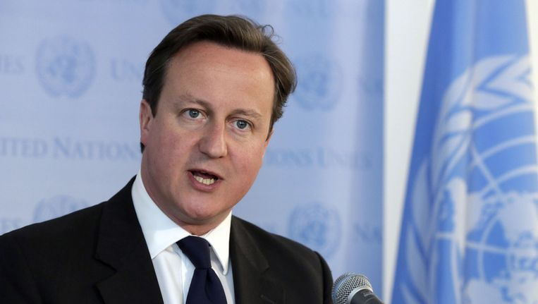 De Britse premier David Cameron Beeld ap