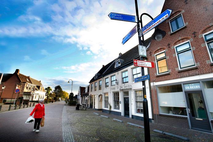 Ook Lexmond zal als de plannen doorgaan Utrechts grondgebied zijn.