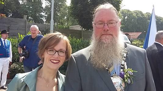 Het koningspaar van EMM: Frans Sluijs en zijn nicht Judith Albers.