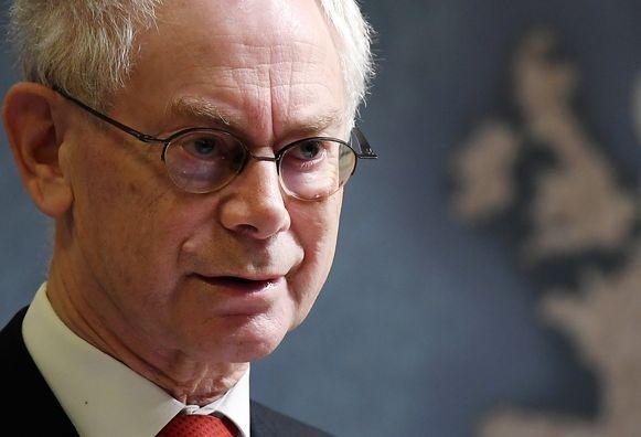 Herman Van Rompuy was van 2010 tot 2014 voorzitter van de Europese Raad.