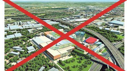 Definitief kruis over Uplace, ziekenhuis en baanwinkels Renault-site?