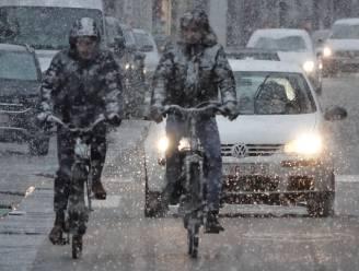 Daar is de eerste sneeuw, ook in Kortrijk enkele centimeters mogelijk