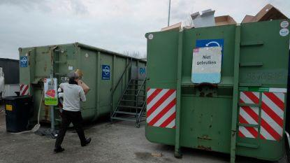 Zeven containerparken gesloten door staking