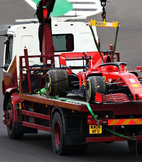 Ploeterend Ferrari bij voorbaat kansloos tijdens thuisrace in Monza