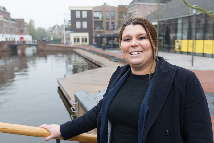 Fractie-voorzitter Anouk Noordermeer van de VVD Alphen aan den Rijn. F