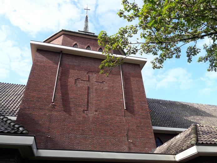 Van de kapel op landgoed Coudewater zijn twee stukken koperen regenpijp gestolen.
