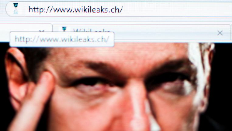 Screenshot van WikiLeaks. Beeld reuters