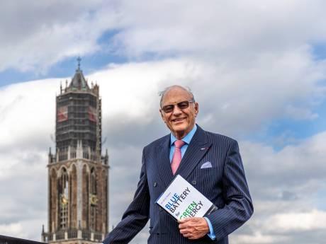 86-jarige heeft revolutionair windenergie-plan en promoveert in Utrecht