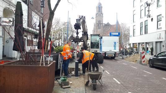 De gebiedscommissie wilde graag dat het werk aan de Witte de Withstraat werd uitgesteld.