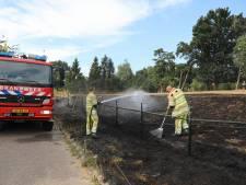 Brandweer blust tweede natuurbrand in Soest