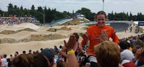 Brons op EK voor Nulandse fietscrosster Renske van Sandvoort
