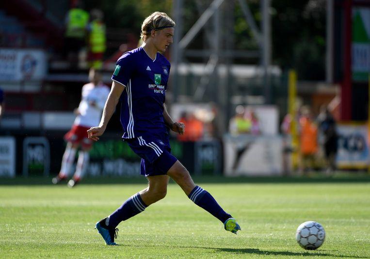 Sebastiaan Bornauw maakte een geslaagd debuut.