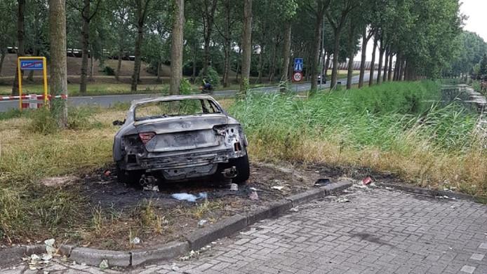 De Audi RS5.