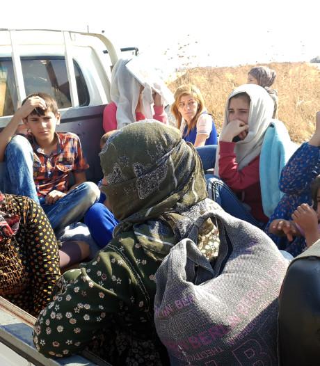 Koerden doodsbang voor Turken en ontsnapte IS-strijders