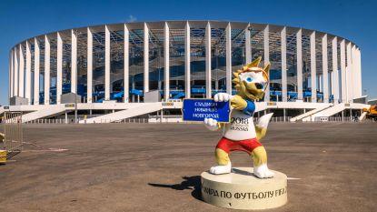 """""""Wereldleiders, boycot de openingsceremonie van het WK"""""""