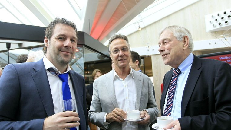 Gerard Bouwer (rechts). Beeld pro shots