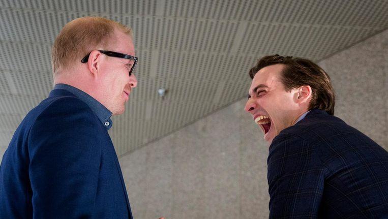 Jan Roos en Thierry Baudet. Beeld anp