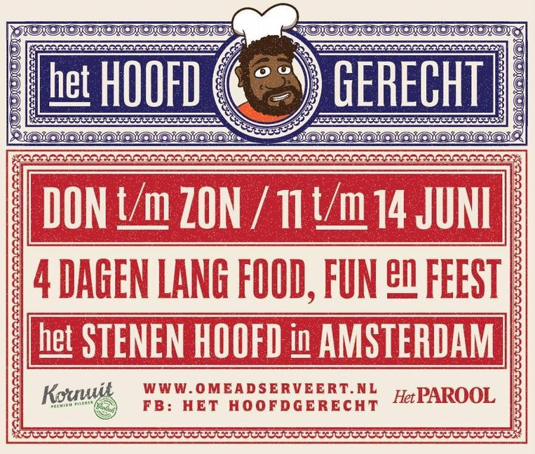 Festival Het Hoofgerecht Beeld Het Hoofdgerecht
