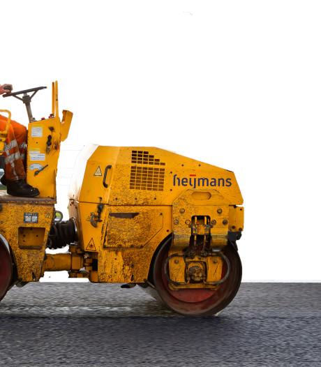Oud asfalt kan soms nog best een tijdje mee in Apeldoorn