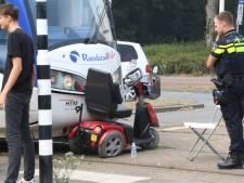 Scootmobieler gewond na botsing met tram op Laan van Meerdervoort