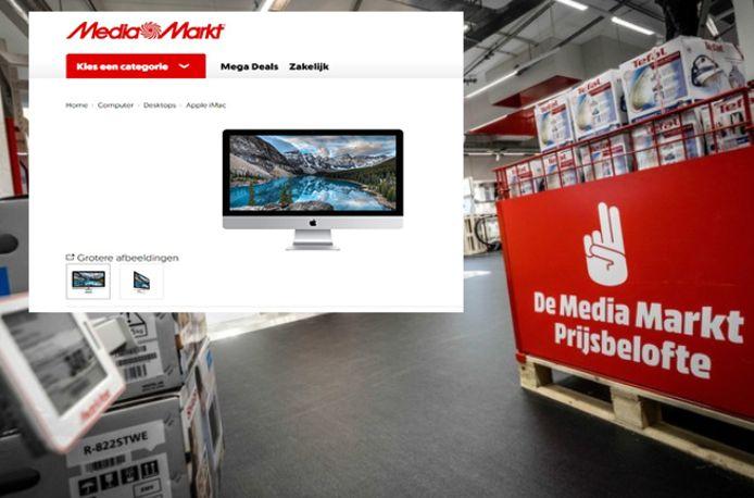Des iMac d'une valeur de 2.000 euros ont été vendus au mauvais prix sur le site néerlandais de Mediamarkt.