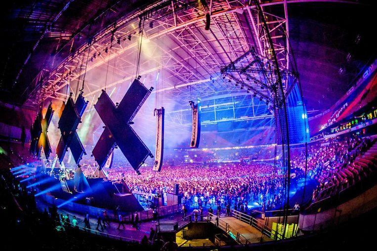 Amsterdam Dance Event tijdens optreden DJ Mag. Beeld anp
