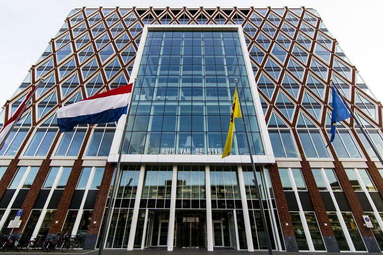 Het gemeentehuis van Gouda. Beeld anp