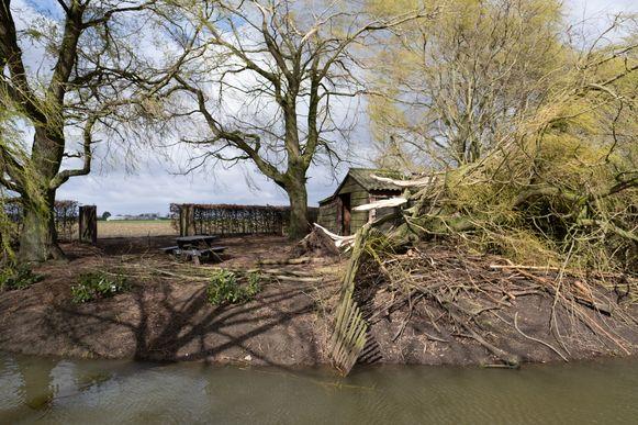 De storm van 10 maart veroorzaakte heel wat schade.