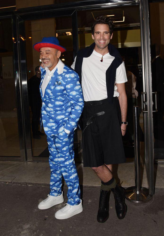 Christian Louboutin et Mika