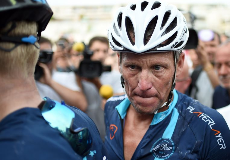 Lance Armstrong. Beeld AFP
