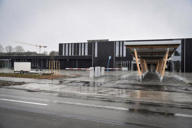 De werken aan Campus De Kroon schieten erg goed op. De nieuwbouw staat al recht.